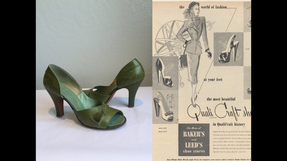 Strolling at Her Own Pace - Vintage 1940s 1950s Mo