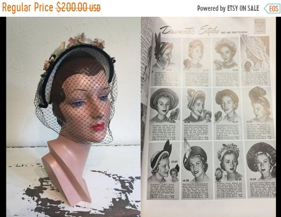 50% OFF Go Ahead Be Dramatic! - Vintage 1940s Ivor