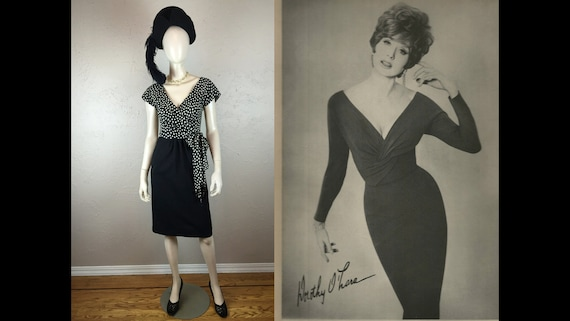 Connect the Dots - Vintage 1950s 1960s Black & Whi