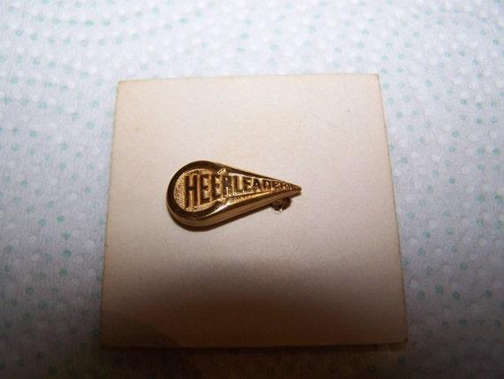 TAN- Vintage Old New Stock Never Worn Pierced On Original Card