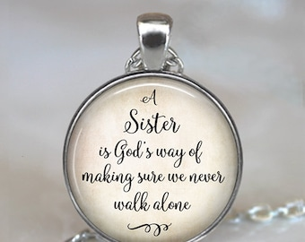 Muse Infinite One in a Million Necklace for Sister Gifts for Sister Necklace Personalized Sister Gifts Jewelry Gifts with Sayings Original Gifts for Sister