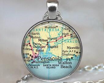 Map Of Fort Walton Beach Florida.Betsy Walton Etsy