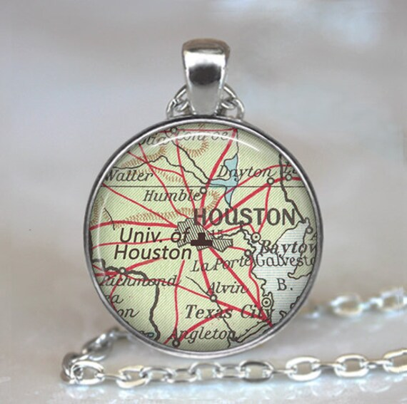 University of Houston necklace, UH pendant UH Cougars Houston Texas on ro map, cal state fullerton map, university of hawaii map, uz map, fa map, rice university parking map, the kentucky map, u of h campus map, fsu college map, uq map,