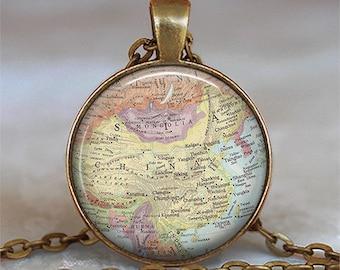 China map necklace, China map pendant, adoption jewelry, adoption necklace, adoption pendant, keychain key chain