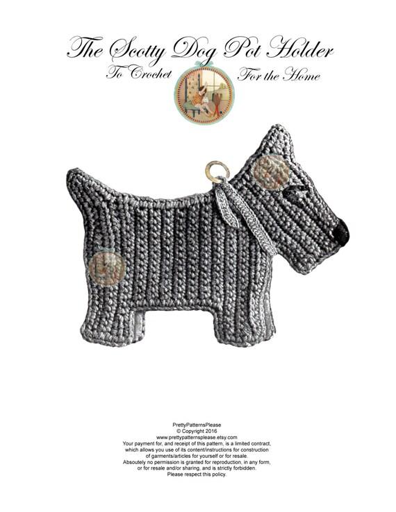 Crochet Scottie Amigurumi Project: British Wool | TOFT | 738x570