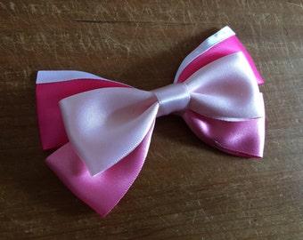 Disney Inspired Princess Aurora (Sleeping Beauty) Hair Bow