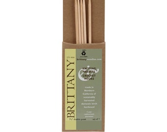 Brittany Double Point Knitting Needles 7.5 Inch 5 Count Pkg