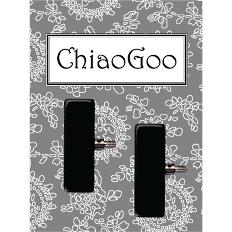 ChiaoGoo Interchangeables Small Tip to Mini Cable Adapters 2 pieces
