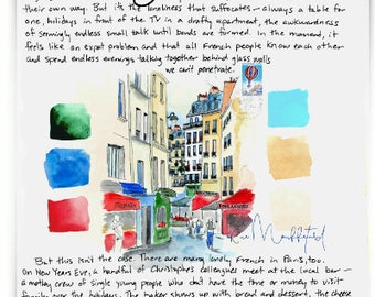 Rue Mouffetard: Paris Letters, January letter about this famous market street