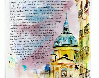 Sorbonne: Paris Letters, November letter about my versioin of studies at the Sorbonne