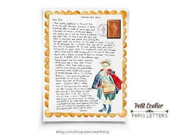 Petit Ecolier: Paris Letters, September letter about this famous cookie