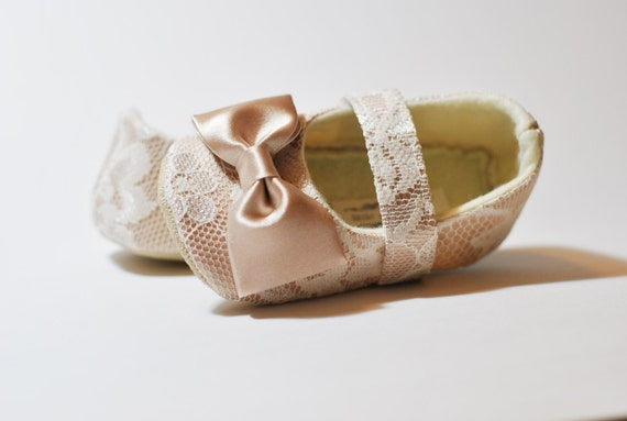 latest fashion hot product quality products Toddler Girl Shoes Baby Girl Shoes Soft Soled Shoes Lace Wedding Shoes  Easter Shoes Flower Girl Shoes Ivory Cream Champagne Shoes - Sara