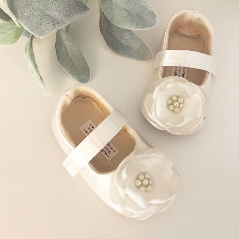532e337374c55 Toddler Girl Shoes ivory Baby Girl Shoes Soft Soled Shoes white Wedding  Shoes Easter Shoes pink Flower Girl Shoes - Aria- LOTS OF COLORS