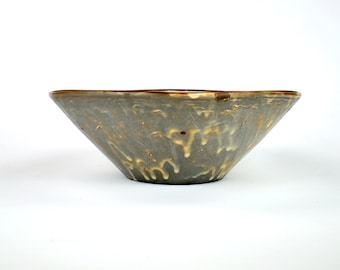 Serving Bowl with Red Dots