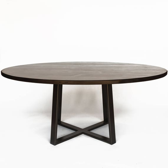 . Large Round Dining Table  Round Table or Oval Table  Choice of size and  finish