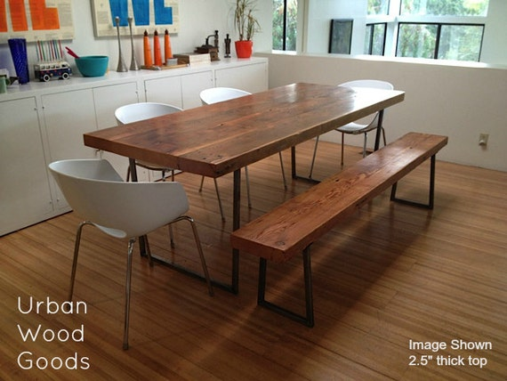 Beautiful Reclaimed Wood Table Chicago