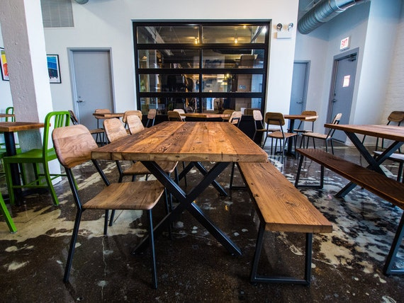 Reciclado madera mesa de comedor mesa de Bar mesa de comedor | Etsy