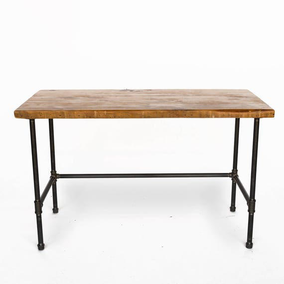 and pencil drawer Prices include 2 shelves and 1 crate drawer 11.5W x 14D x 4.5H pipe legs shelves Computer Desk with reclaimed wood top