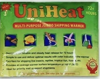 Add On For My Plant Orders Only* 72 Hour Heat Pack Plus 2 Day Express Upgrade.