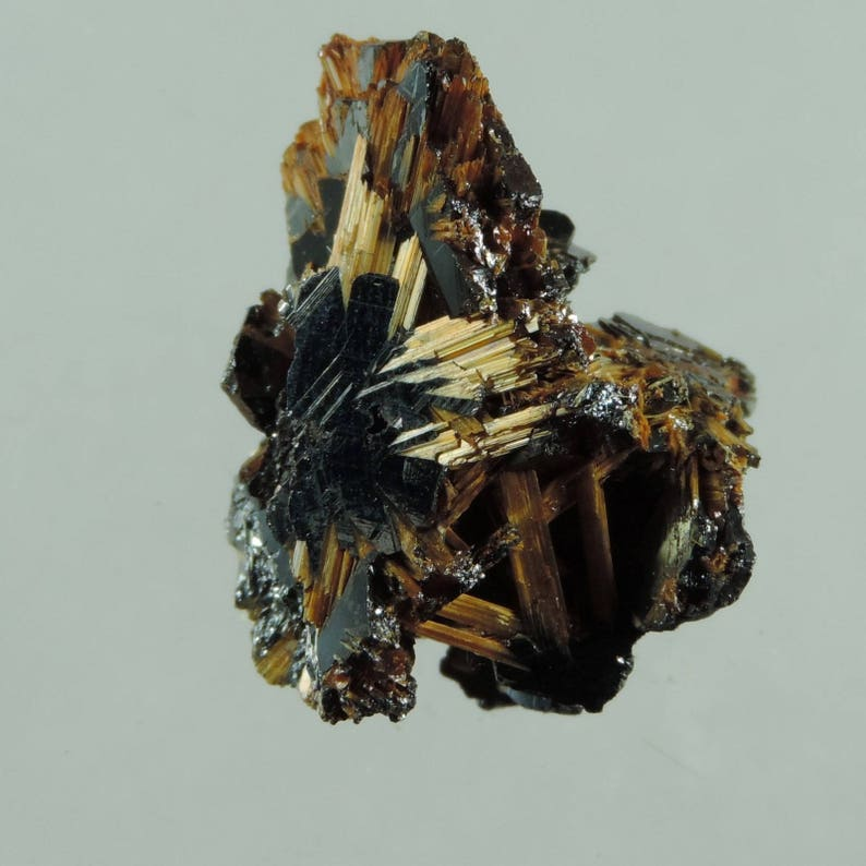 43.3 cts orange rutilehematite crystal specimen Bahia Brazil image 0