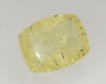 45.3 CTS yellow heliodor/golden beryl emerald cut, brazil