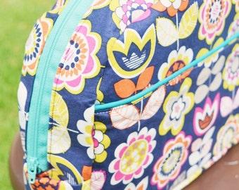 Bookworm Backpack and Lunchbox - Ellie Inspired Bag PDF pattern