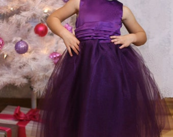 Ballerina SLIM PDF Pattern - Ellie Inspired Girls Tulle Dress with matching doll - Size 1-16 Slim Sizing and 15 and 18 inch doll