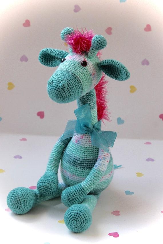 Ravelry: Baby Giraffe Amigurumi pattern by Courtney Deley | 855x570