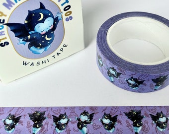 Vincent & Bella Magic Vampire Bats Washi Tape by Stacey Martin Tattoos