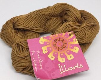 Pima Cotton DK Weight - Mirasol Illaris in 107 Copper