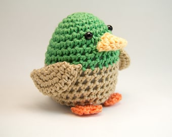 Crochet Duck, Toy, Home Decor