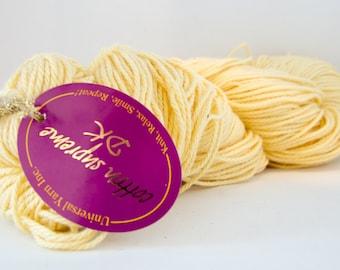 Cotton Supreme DK Yarn - Universal / Nova - Color #707 Sunshine Yellow