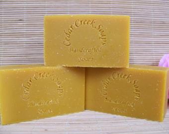 Citrus Lavender Soap Handmade Soap Cold Processed Soap 85% Organic Soap