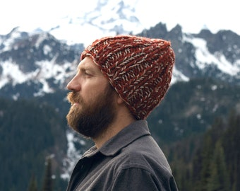 THE BRACKISH HAT   30+ Color Choices   Chunky Hat Textured Winter