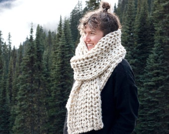 NEW! The Nor'Wester Scarf   28 Color Choices   Bulky Chunky Huge Cozy Scarf
