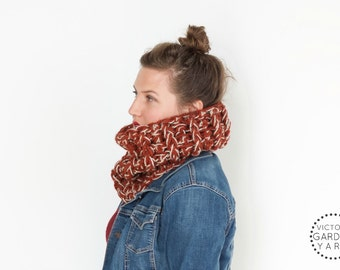 THE BRACKISH COWL | 23 Color Choices | Cozy Chunky Knit Textured Infinity Cowl Scarf