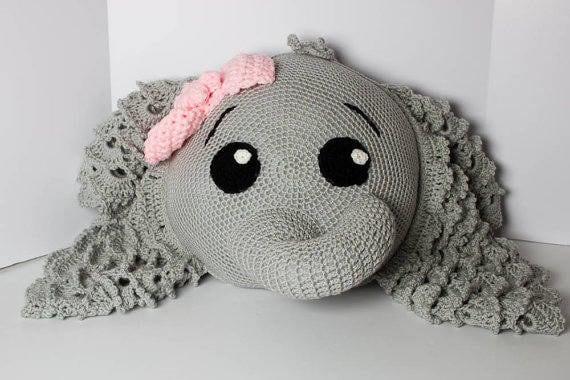 Elephant Amigurumi Crochet Pattern   Amigurumi elephant pattern ...   380x570