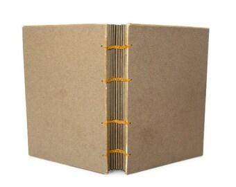 Personalized Guest Book, Sketchbook, Art Journal, DIY Blank Notebook, Writing Journal, Travel Log, Coptic Bound