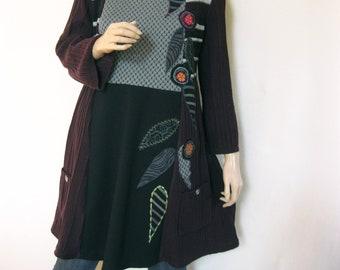 XL Fall Winter Holiday Dress