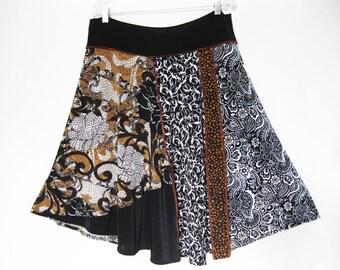 1X  Fun Flowing Skirt