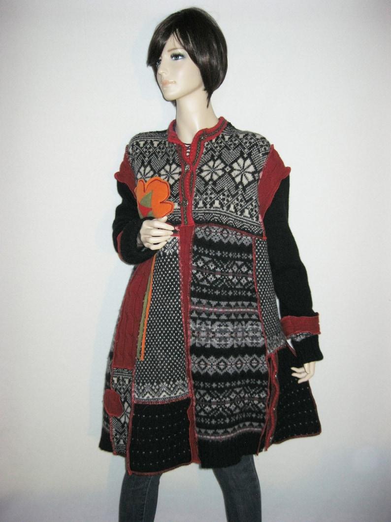 2X to 3X  Wool Tunic or Dress image 0