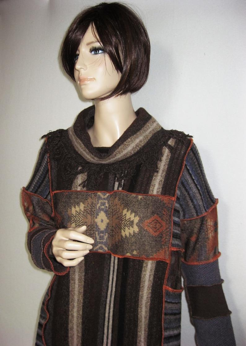 XL Poncho Style Tunic image 0