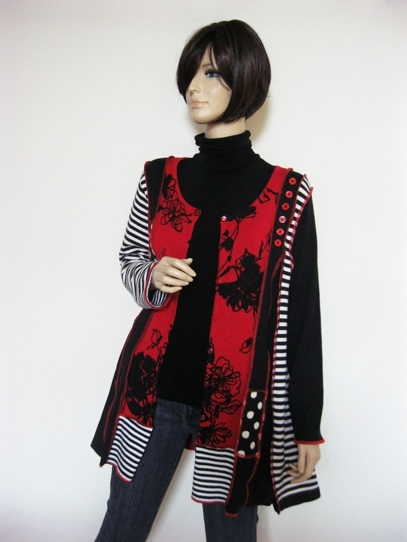 L to XL  Long Cardigan or Tunic image 0