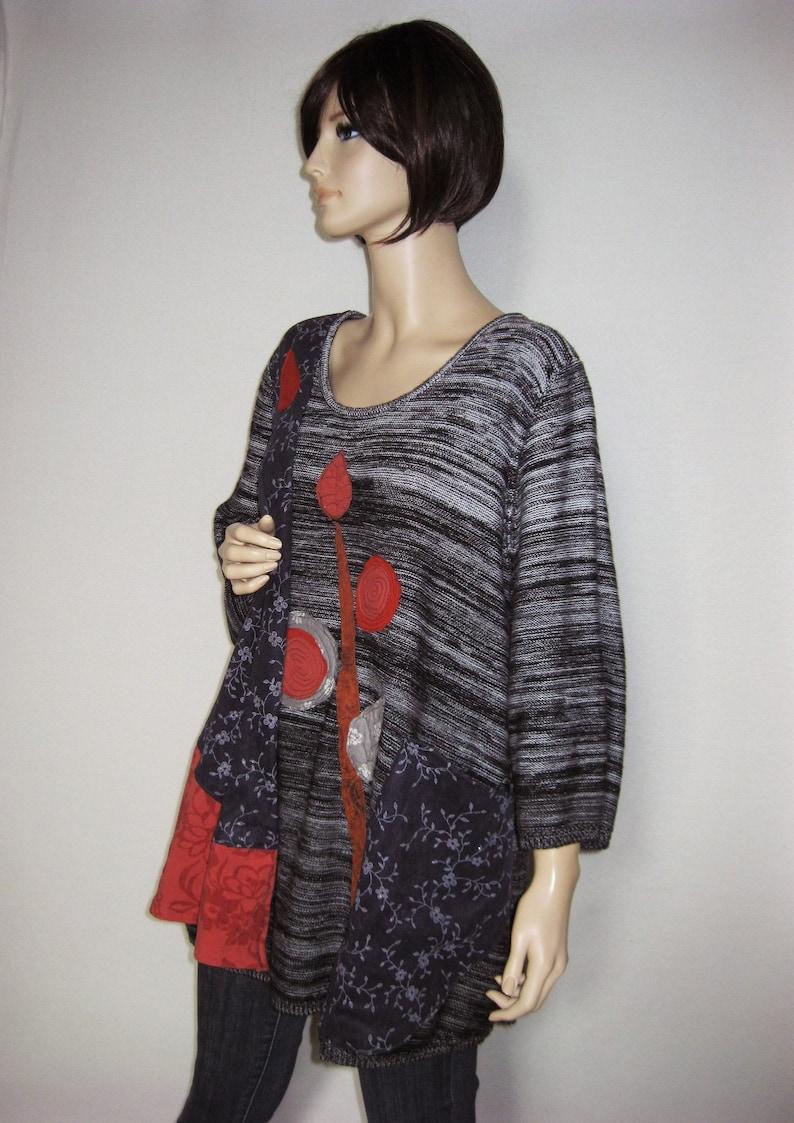 Plus to 3X  Fashion Tunic image 0