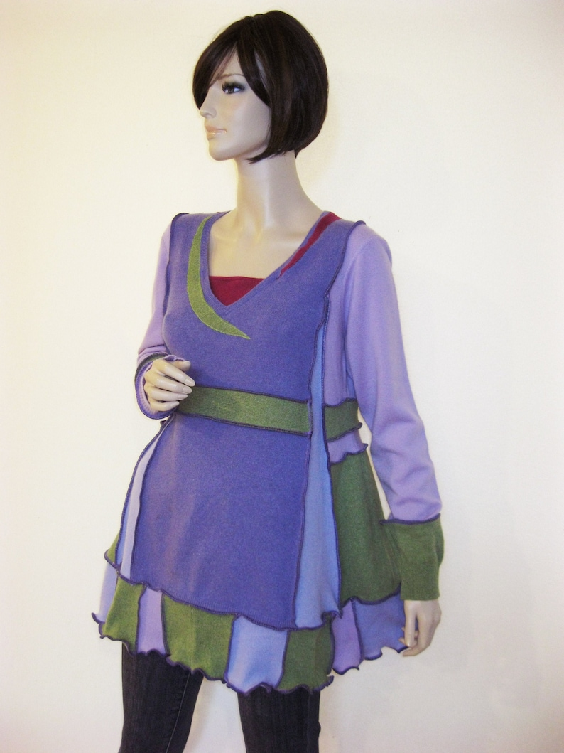 L to XL Cashmere and Lambswool Tunic image 0