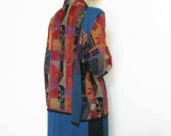 1X  Long Tapestry Jacket