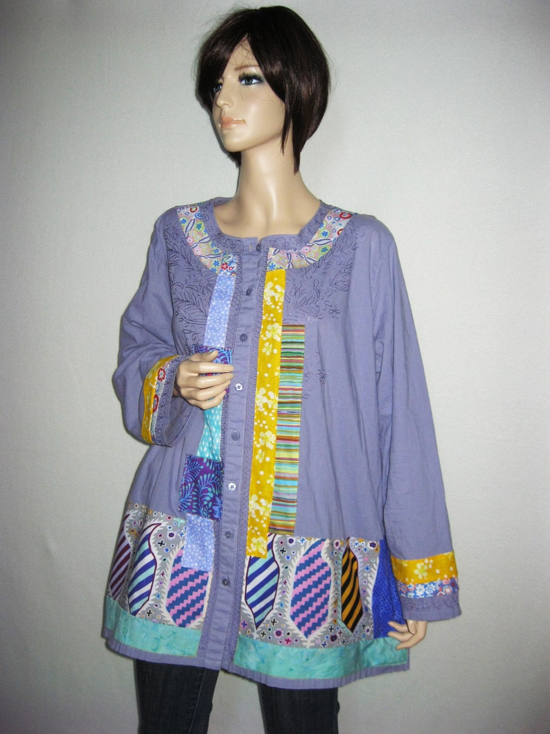 1X to 2X  Lavender Fabulized Shirt image 0