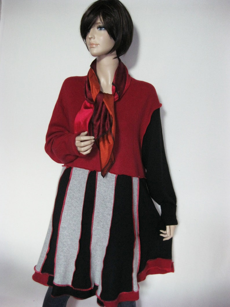 1X Cashmere Dress with Scarf image 0