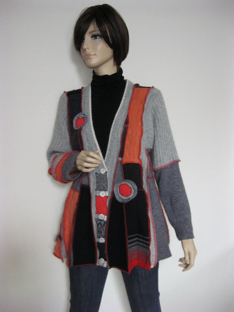 XL Buttoned Wool Jacket image 0