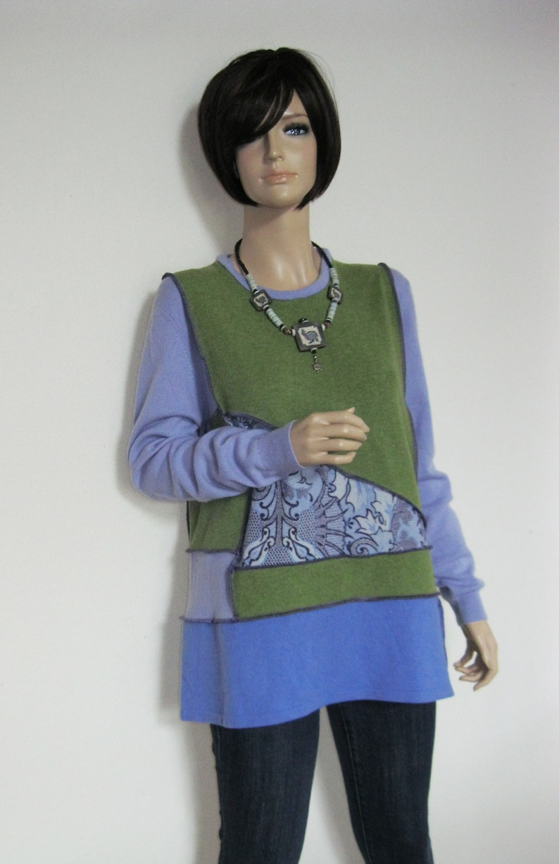 XL Cashmere and Lambswool Sweater image 0
